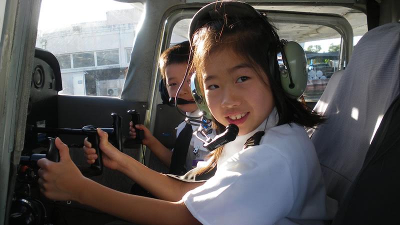 セスナ遊覧飛行・体験操縦 スカイグアム アビエーション