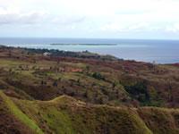 セッティー湾展望台から見えるココス島